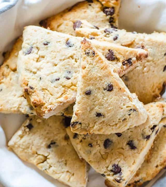 These chocolate chip coconut scones are the most moist scones you will ever get your hands on - guaranteed.