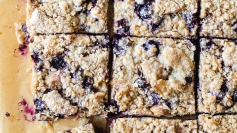 Lavender Scented Blueberry Peach Pie Bars A Cookie Named Desire