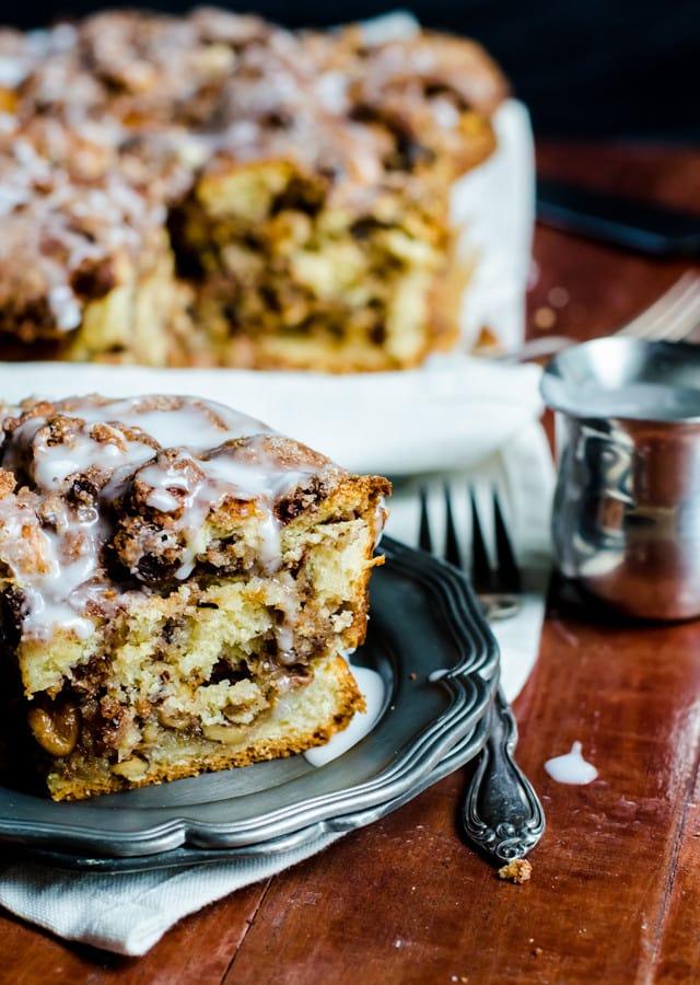 Cinnamon Raisin Russian Coffee Cake –Jewish Baker's Pastry Secrets Review