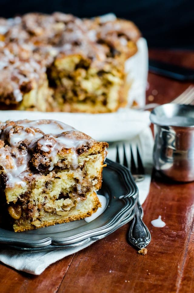 cinnamon raisin russian coffeecake