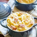 spicy ham macaroni and cheese