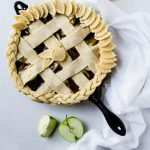 Caramel Cast Iron Apple Pie (Updated Recipe)
