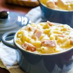 Spicy Macaroni and Cheese with Smokehouse Ham