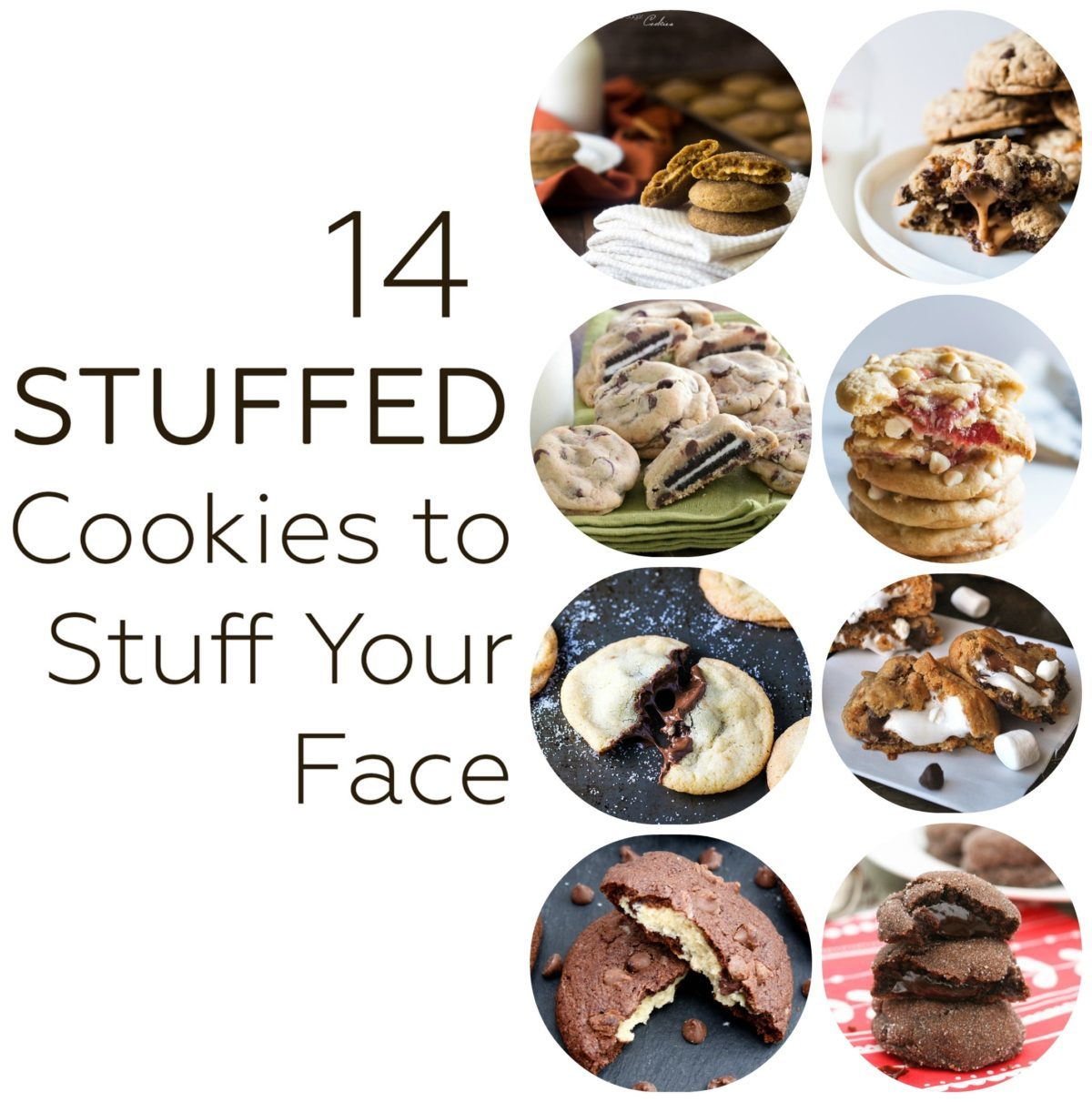 14 stuffed cookies to stuff your face