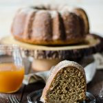 A warm honey apple cider cake - perfect to relax with a mug of tea or coffee. I can't wait to make this on Sunday!