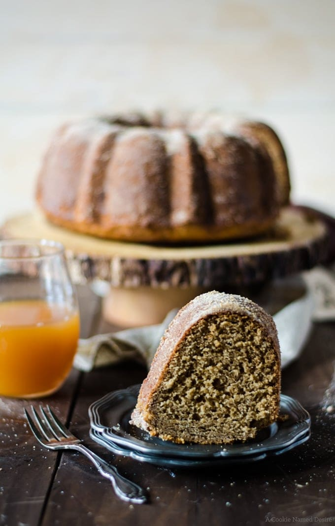 Honey Apple Cider Doughnut Cake | A Cookie Named Desire