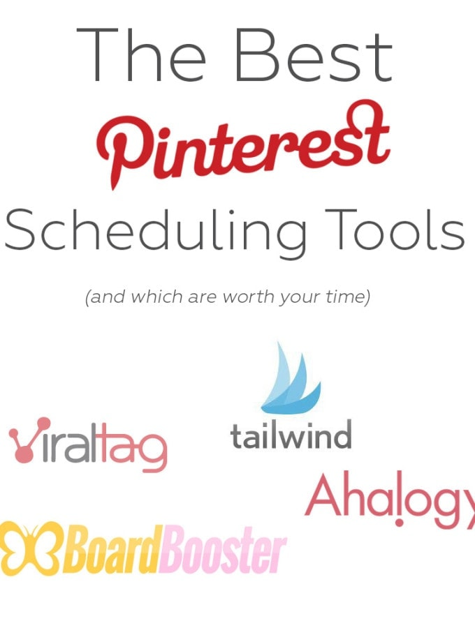 Pinterest scheduling tools... we all need them. But which ones are bloggers using and which one is worth my money? This simple guide breaks down everything you need to know about popular pinterest scheduling tools and even shows you how to use them!