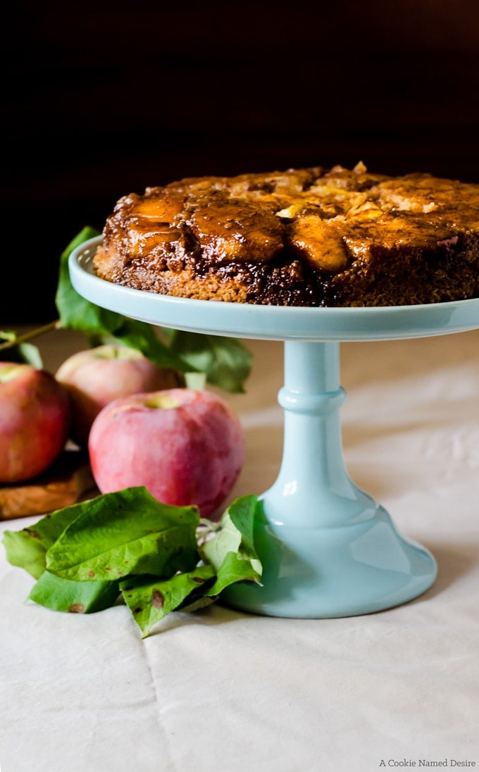 There is nothing better than a rich and decadent cake that is easy to make. This caramel apple upside down cake will become your favorite fall baking dessert recipe!