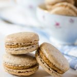 Your morning coffee just got better with these light and delightful coffee cardamom macarons