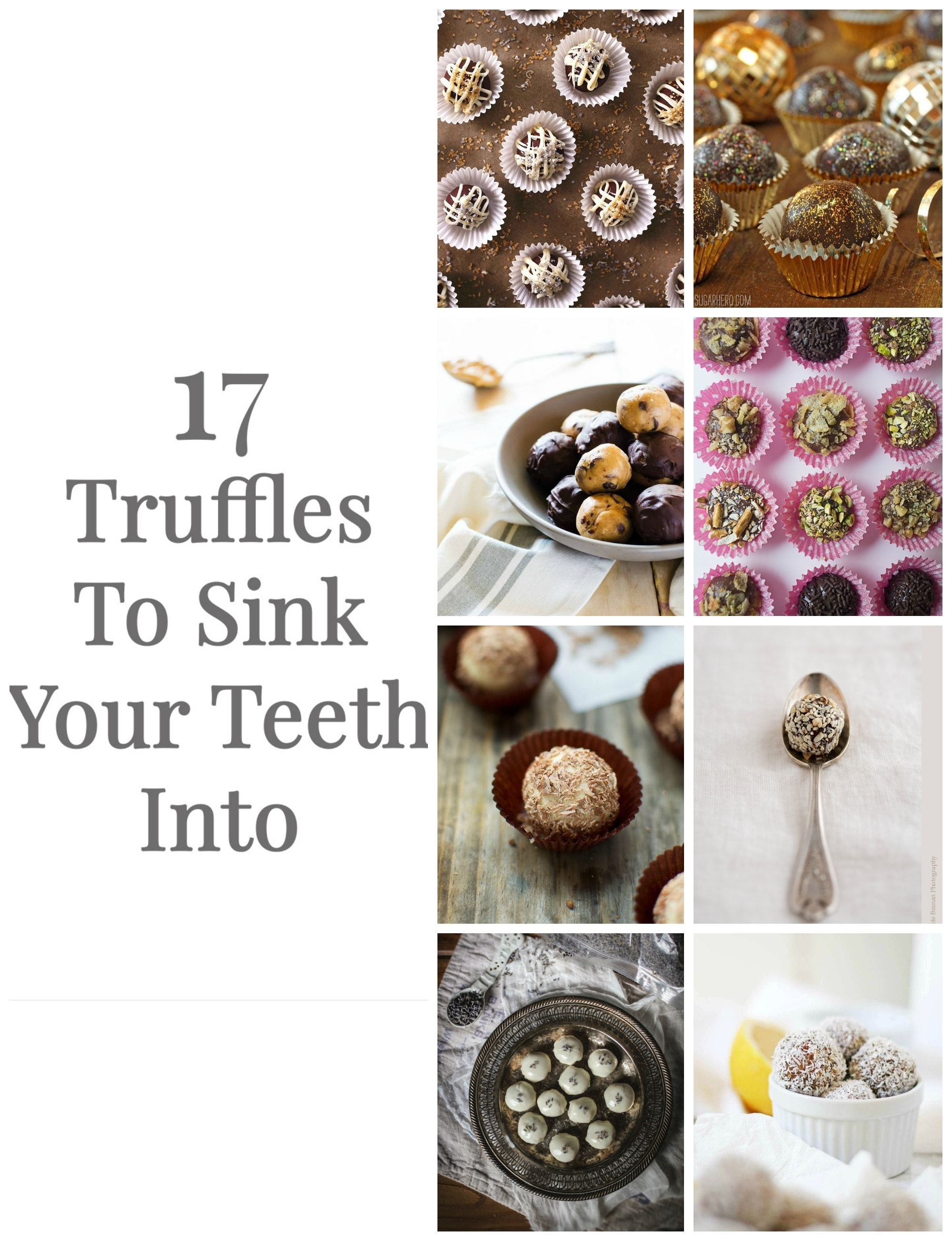 17 delicious truffles to sink your teeth into