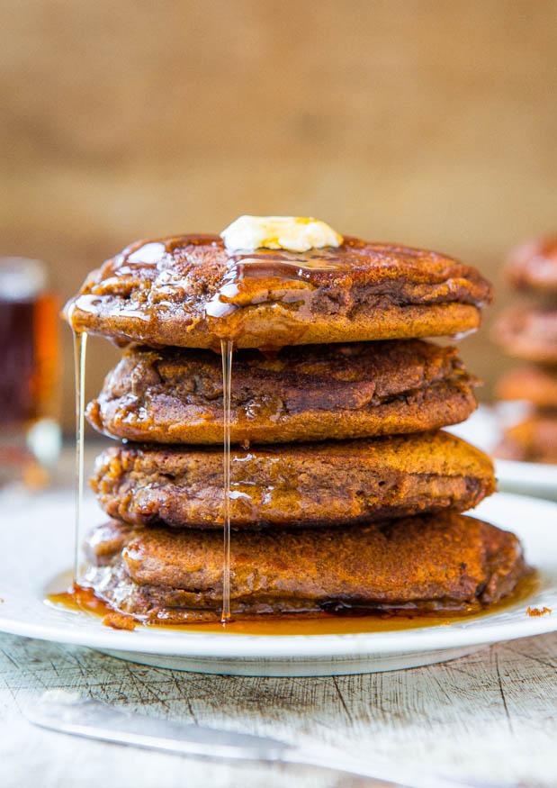gingerbreaad pancakes