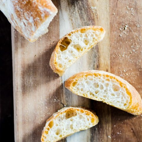 Make the best ciabatta of your life with this easy to follow recipe!