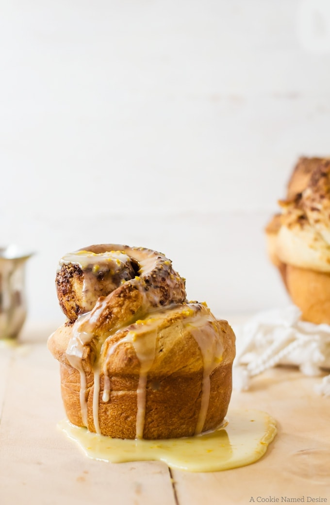Melt in you mouth chocolate orange brioche rolls