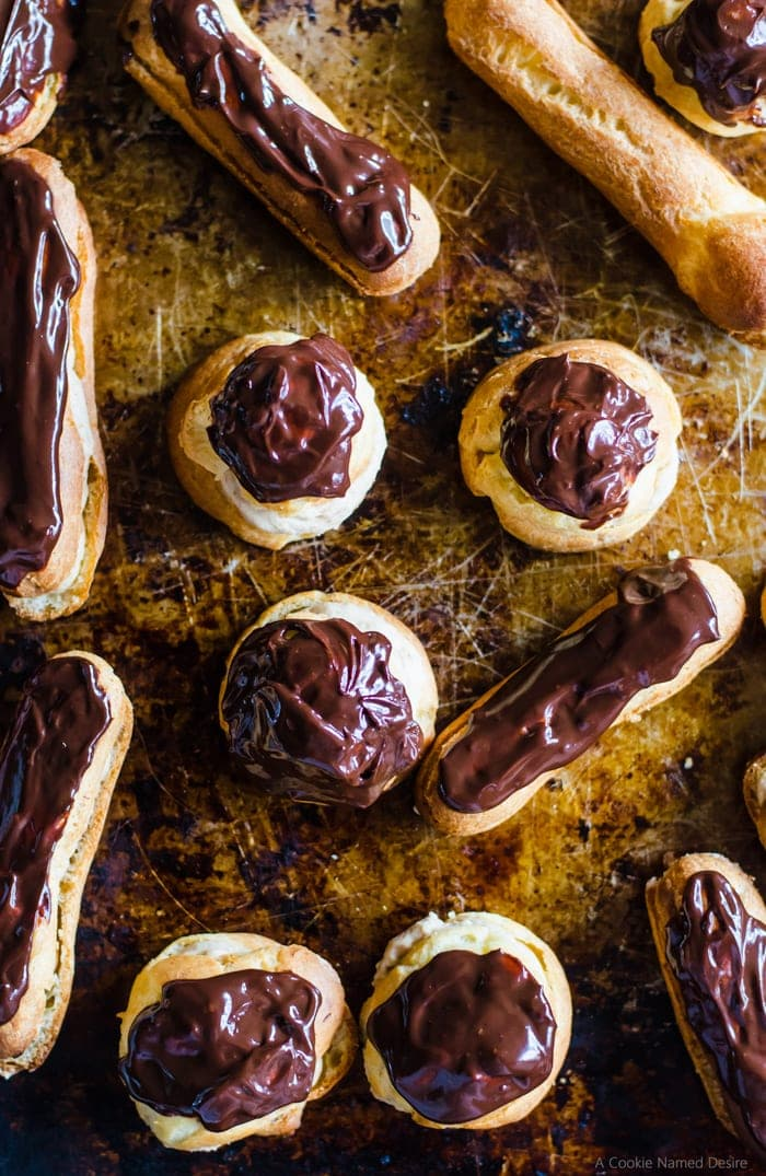 These chestnut cream eclairs are a delightfully flavorful treat to pair with coffee