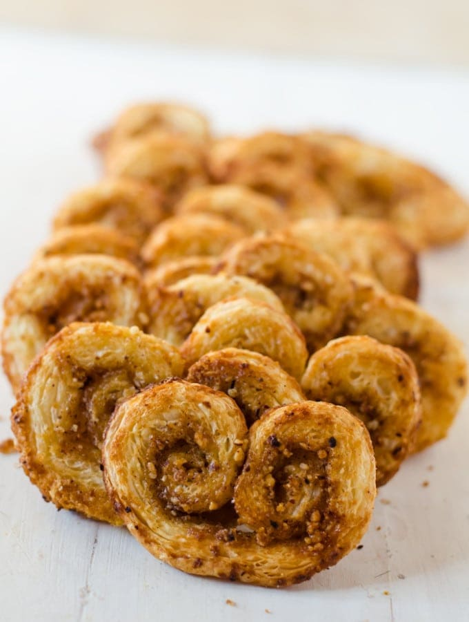 Honey Hazelnut Orange Spice Palmiers