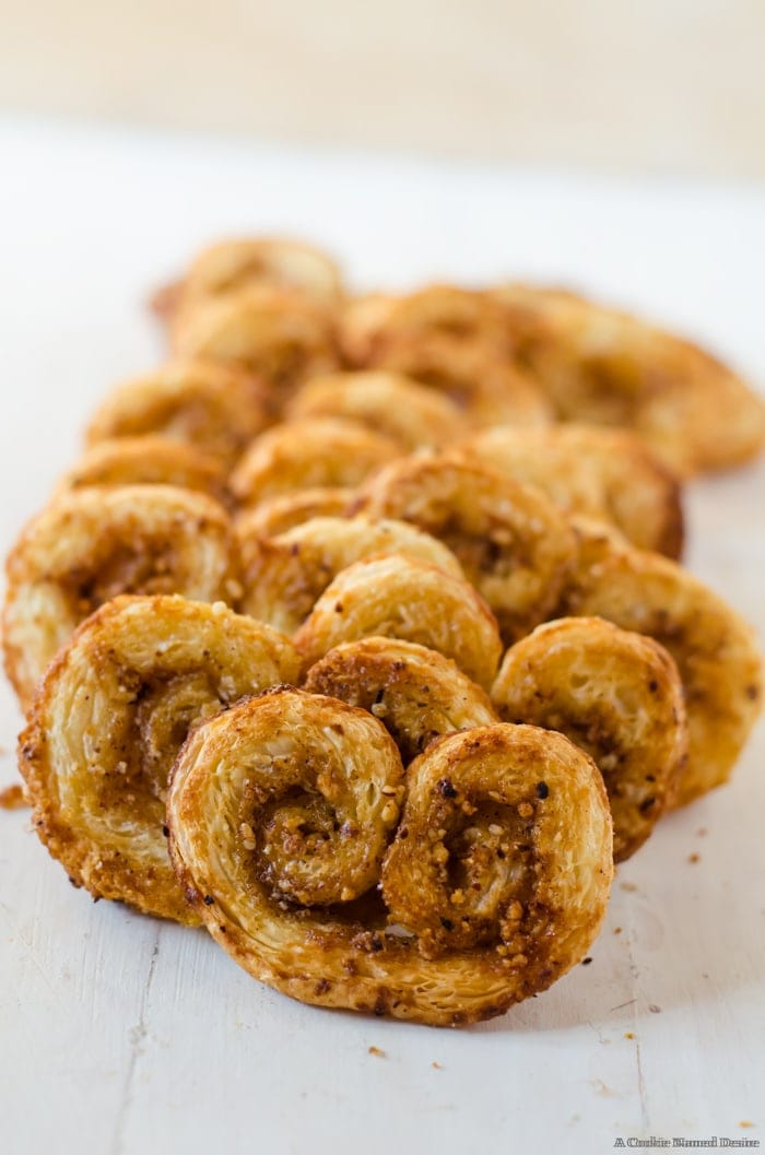 Your holiday plates are not complete without these honey hazelnut orange spice palmiers