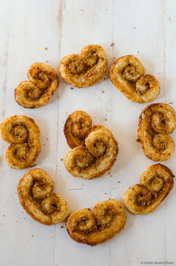 Your cookie platters aren't complete without these honey orange spice palmiers