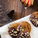 Soft, chewy, triple ginger spice cookies