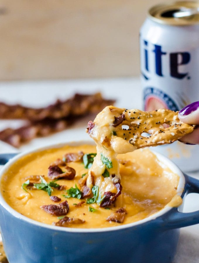 Everyone will be fighting over this incredible bacon beer cheese dip recipe.