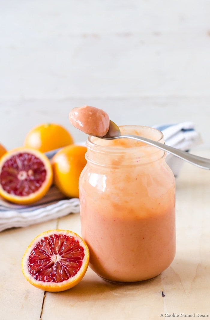 A rich and creamy blood orange curd perfect for toast, shortbread, ice cream, and so much more. An easy recipe that is done in minutes!