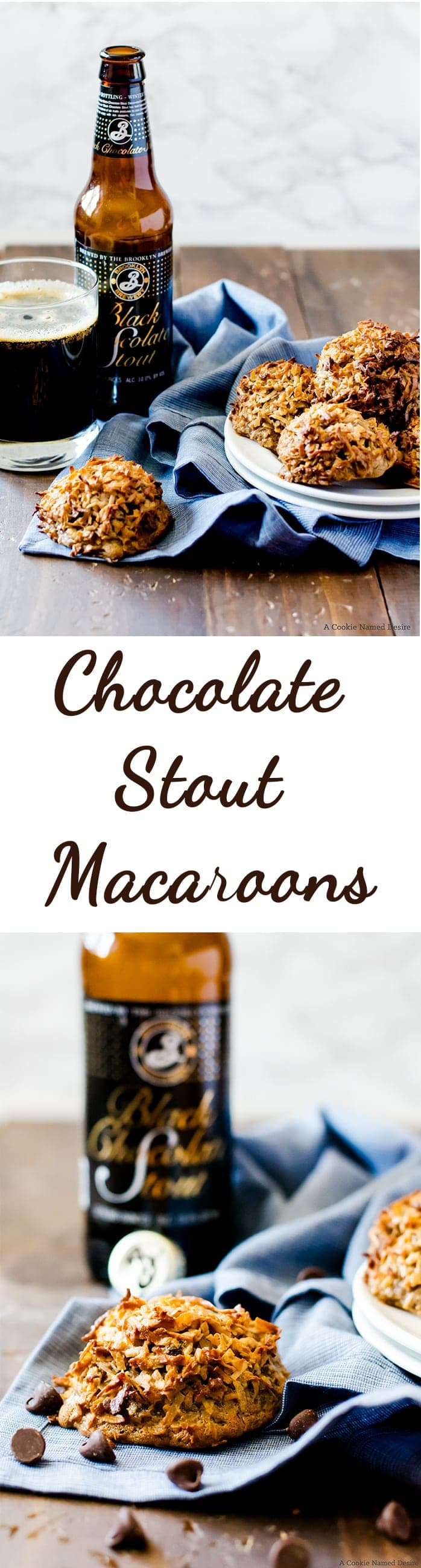 Chocolate stout macaroons are a great Game Day treat everyone will love