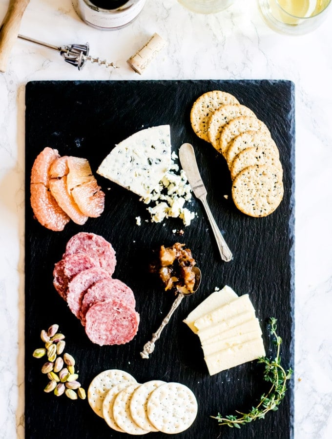 How to Build a Valentine's Day Cheeseboard + Pear Chutney Recipe