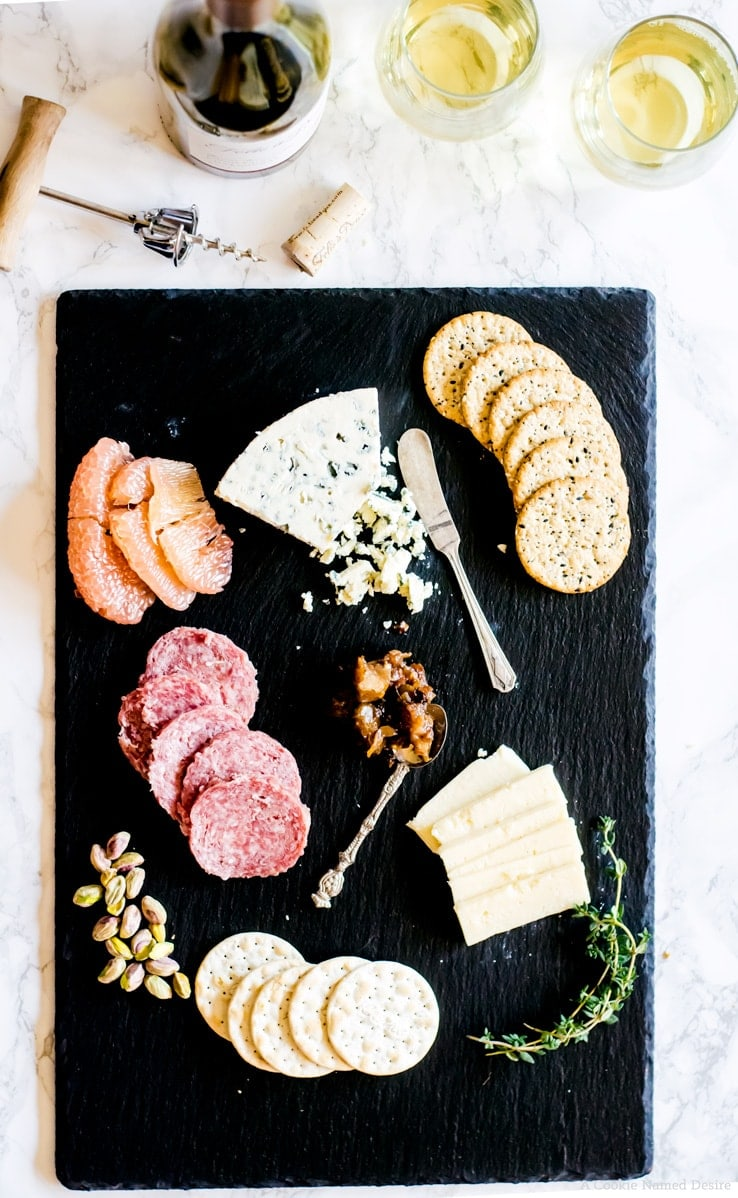 Learn how to build a romantic Valentine's Day cheeseboard, and a recipe for pear chutney