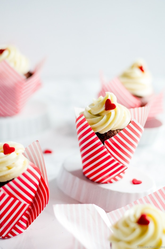 Ridiculously moist, irresistibly cute beet red velvet cupcakes