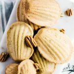 Brown Butter Pecan Madeleines