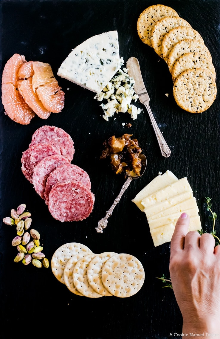 Simple guide on building the perfect Valentine's Day cheeseboard
