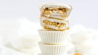 Ritz and Marshmallow Fluff Peanut Butter Cups