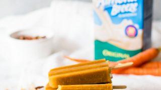 Carrot Cake Popsicles