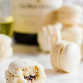 Your taste buds will rejoice once you bite into these delicately flavored orange blossom macarons with raspberry rose jam. These little macarons have a wonderfully floral attribute that reminds you of the first days of Spring without being overwhelming.