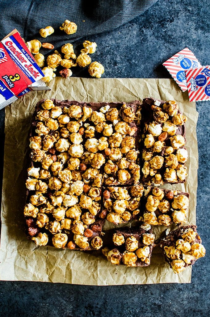 Cracker Jack Fudge