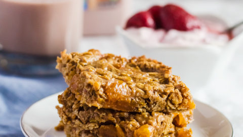 Apricot Almond Butter Oat Bars