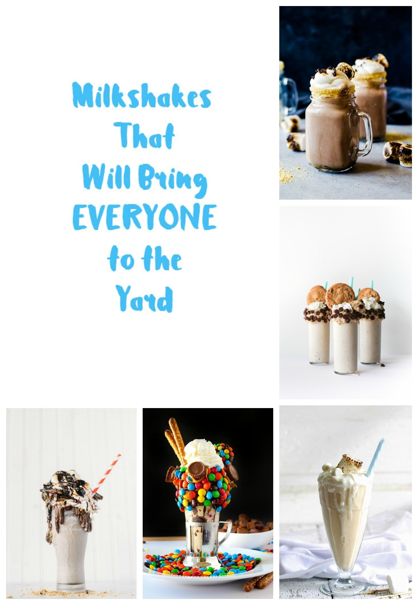 milkshake round up