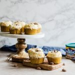These light coconut cupcakes with coconut flavored almonds are the perfect summer treat. They are so easy to make and are a crowd pleasing favorite!