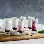 Coconut Lime Mojito Shooters w Blueberry