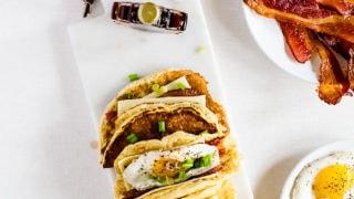 American Breakfast Tacos aka Pacos