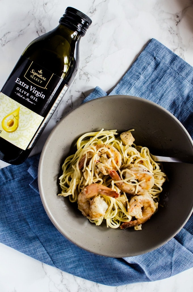 This brown butter shrimp scampi will be your new favorite weeknight dinner. Yes, weeknight because it is actually such an easy dish to put together!