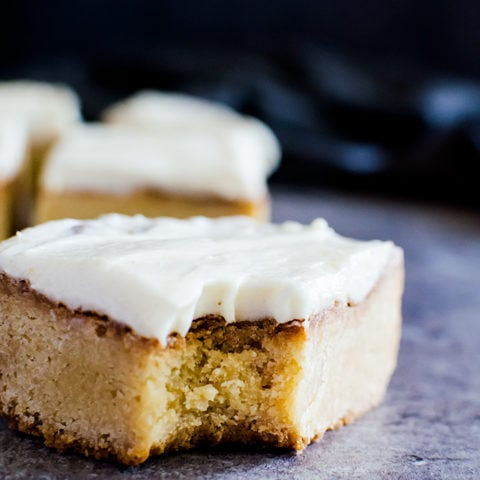 The most amazing white chocolate brownie. You won't be able to say no!