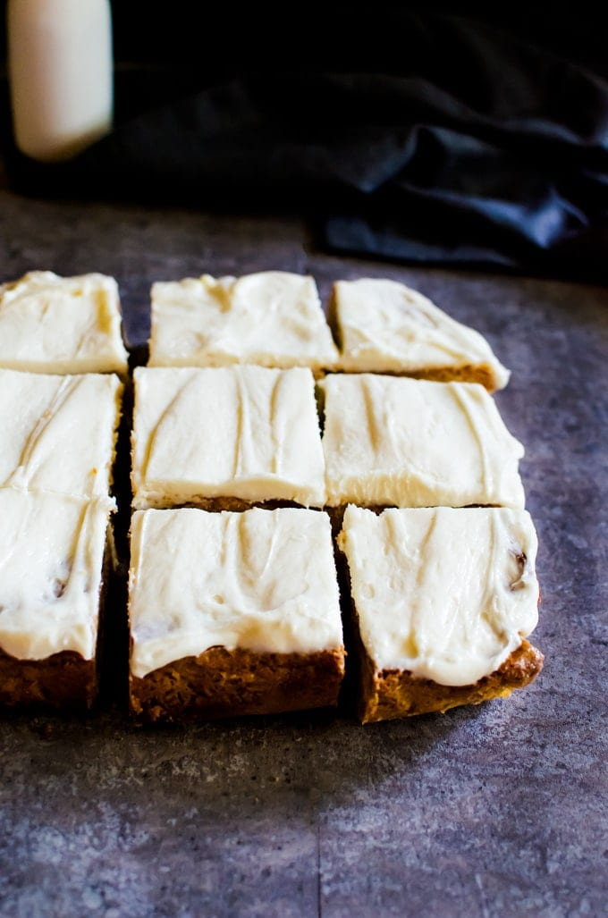 An incredibly dense and fudgy white chocolate brownie