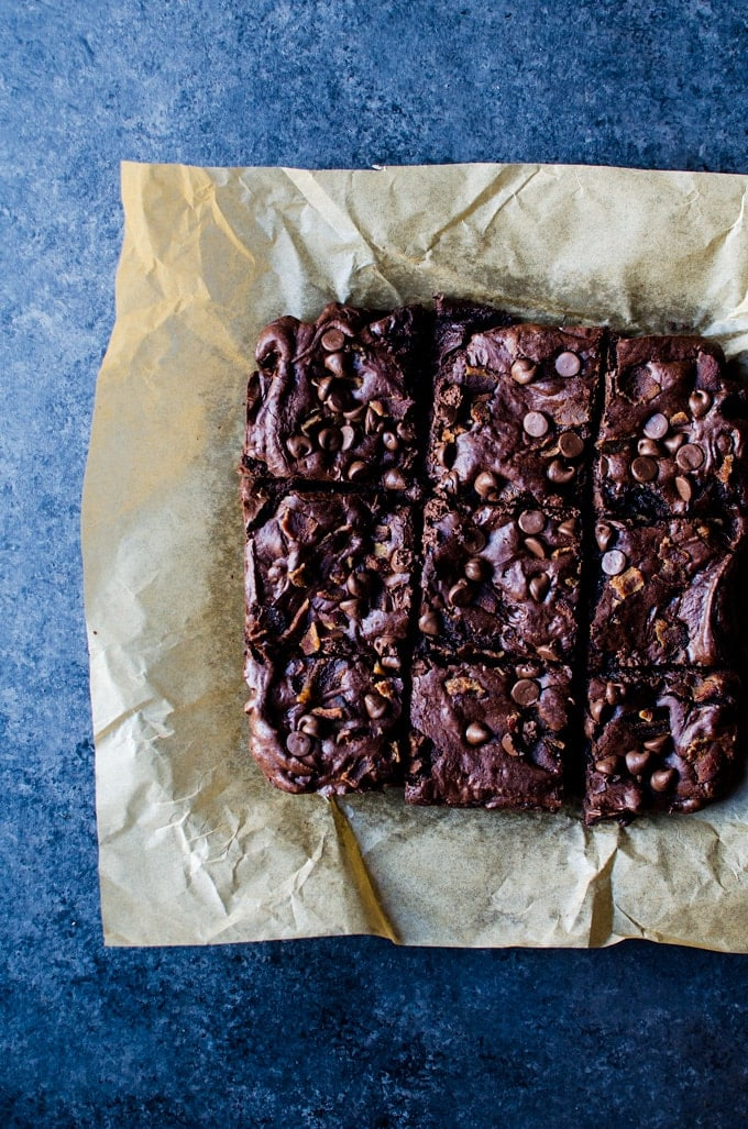 These bacon brownies will be the only brownies you will ever crave again. Sweet, salty, and incredibly addictive. It has it all!