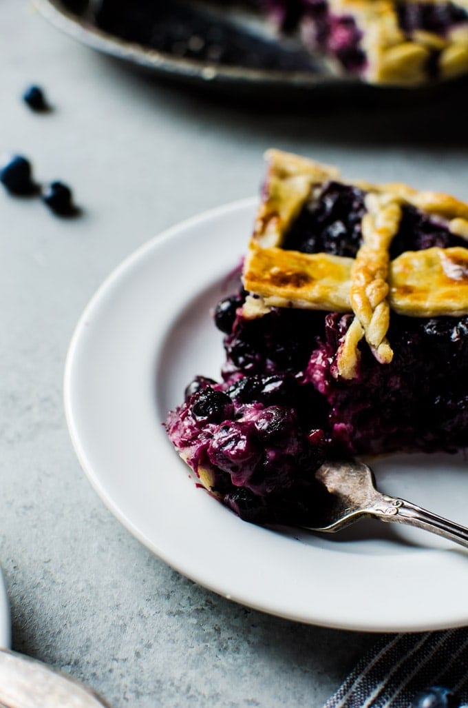 This blueberry buttermilk pie is unlike anything you've ever tasted.
