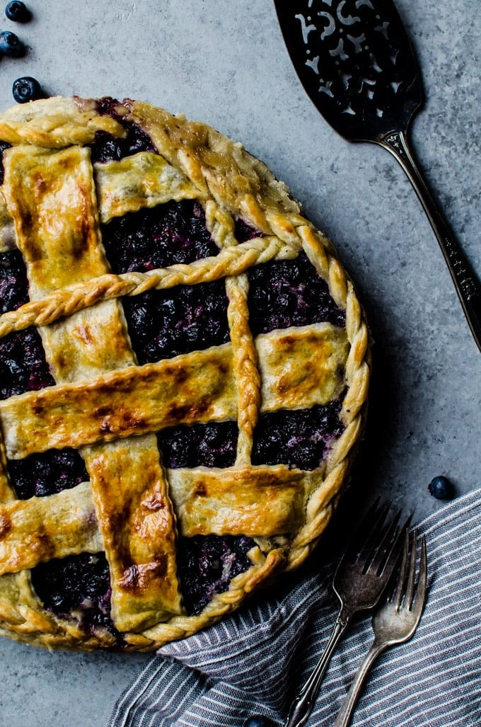 This tasty blueberry buttermilk pie is a new family favorite.