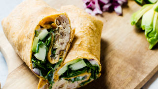 Greek Tuna Wraps