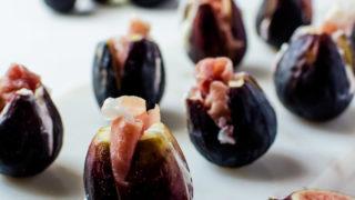 Prosciutto Stuffed Figs