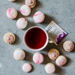 These vanilla bean macarons with passion tea buttercream is a tasty treat to enjoy any time of day
