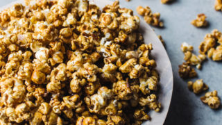 Hot Toddy Caramel Popcorn