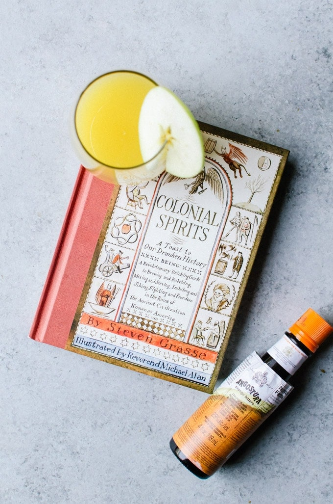 colonial spirits apple cider mimosa